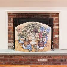 Stupell Home Decor Collection Fireplace Screens