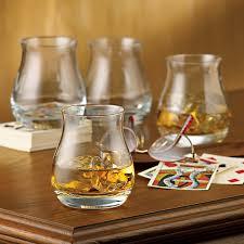 glencairn wide bowl whisky glasses set
