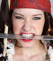 makeup for halloween pirate