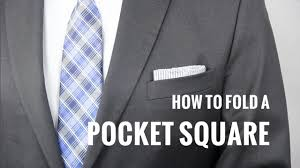 how to fold a pocket square 7 ways