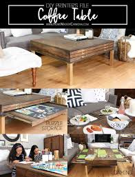 fabulous diy farmhouse coffee tables