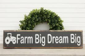 Tractor Decor Boys Bedroom Farm Sign Kids Room Decor Etsy