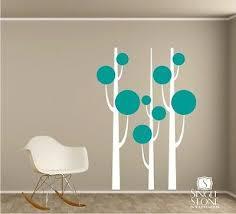 Wall Decals Simple Trees Nursery Vinyl Wall Stickers Art Ebay