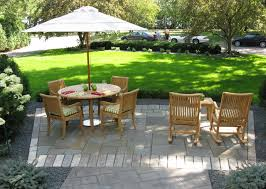 front yard garden patio contemporary