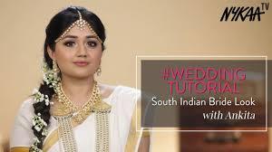 south indian bridal makeup tutorial ft