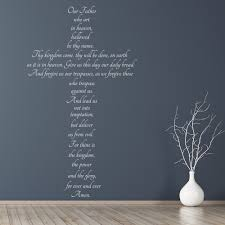 The Lords Prayer Christianity Wall Decal Sticker Ws 42951 Ebay
