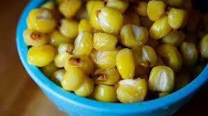 native american style corn and bison