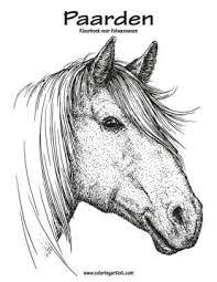Paarden Kleurboek Voor Volwassenen 1 By Nick Snels Paperback