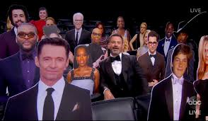 Tuxedo hazmat suits, RBG tribute, a garbage fire and an alpaca: Highlights  from the 2020 Emmy Awards - SFGate