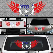 1x Puerto Rican Flag Car Decal Puerto Rico Flag Decal Pr5875 28 85 Picclick