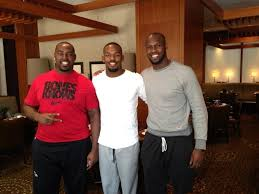 Jon Jones with his Two NFL Brothers ...