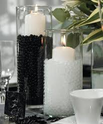 200g water pearl crystal fill out vase