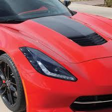 Corvette Gm Hood Stinger Stripe Decal C7 Stingray Z51 Grand Sport Westcoastcorvette Com