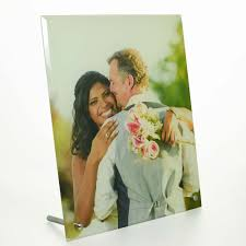 personalised printed photo glass frame