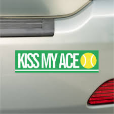 Tennis Bumper Stickers Decals Car Magnets Zazzle