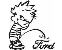 Calvin Pee On Peeing On Ford Vinyl Decal Window Decal Window Stickers White Free Shipping Who Vinyl Decal Stickers Vinyl Decals Sticker Sign