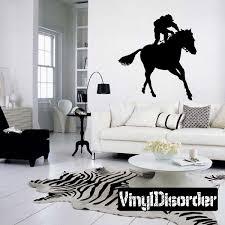 Horse Racing Wall Decal Vinyl Decal Car Decal Bl033 Vinyl Wall Decals Car Decals Vinyl Cloud Wall Decal