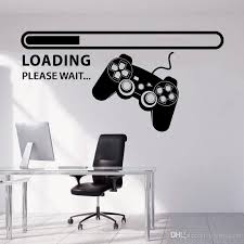Wall Decal Gamer Xbox Loading Controller Games Sticker Home Decor Kids Teen Bedroom Playroom Vinyl Wall Art Decals Stickers Wallpaper Stickers Walls From Joystickers 9 5 Dhgate Com