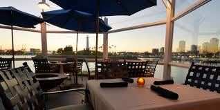 enjoy waterfront dining on the parkers