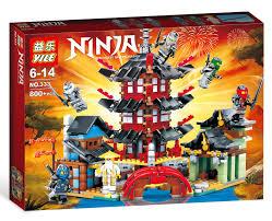 Yile 333 (NOT Lego Ninjago Movie Temple Of Airjitzu ) Xếp hình Đền ...