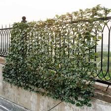 Costway 59 In X 95 In Faux Ivy Leaf Garden Decorative Fence Artificial Hedge Fencing Gt3049 The Home Depot In 2020 Artificial Hedges Privacy Fence Screen Fence Screening