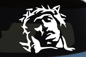 Jesus Crown Of Thorns Car Truck Decal Sticker Choice Of Size And Color Ebay