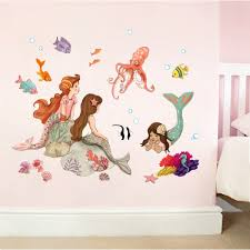 Mermaid Play Wall Sticker Belle Boo