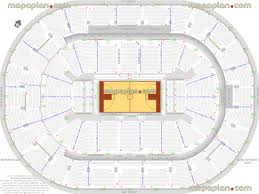 bok center seat row numbers detailed