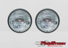 Round Headlight Decals For Race Cars And Drag Cars
