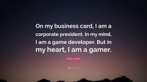 satoru iwata quotes quotefancy