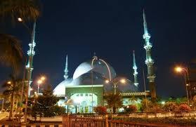 Hasil gambar untuk masjid raya al-a'zhom tangerang