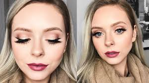 simple holiday makeup look with glam