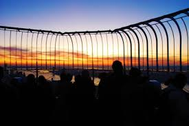 Watching Sunset At The Top Of The Empire State Building Pommie Travels