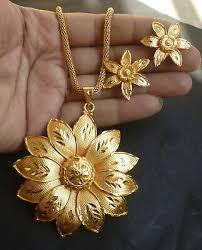 long chain pendant earrings indian