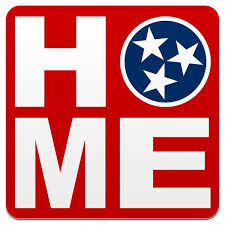 Home Tennessee Flag Tri Star Decal Tn Local Car Sticker Guitar Case Tennessee Shirt Company
