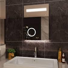 elegant illuminated led bathroom mirror