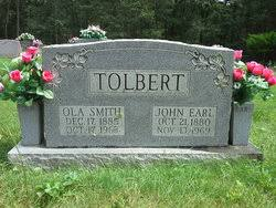 Ola Smith Tolbert (1885-1963) - Find A Grave Memorial