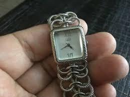 Vintage Adi Israeli Women's Quartz Watch Silver tone Collectible Elegant |  eBay