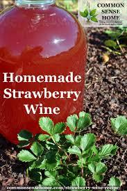 easy strawberry wine recipe perfect