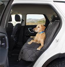grip tight microfibre dog backseat