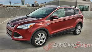 2013 2019 Ford Escape Vinyl Graphics Side Door Decals Stripes Runaround Auto Motor Stripes Decals Vinyl Graphics And 3m Striping Kits
