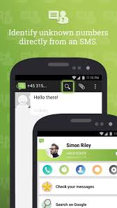 SMS from Android 4.4 with Caller ID for Android - APK Download