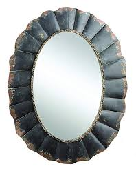 creative co op da0222 oval mirror with