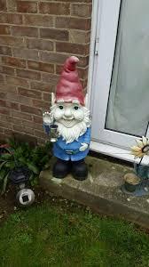 large garden gnome in ashford kent