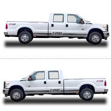 Car Accessories For Ford F250 Car Side Body Decal Sticker For Pickup Truck Decals Racing Sticker Diy Car Decoration 200cm Car Stickers Aliexpress