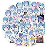 Amazon Com Re Zero Rem Anime Maid Decal Sticker For Car Truck Laptop 4 0 X 3 2 Arts Crafts Sewing