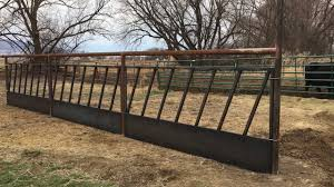 Feeder Panels Corral Feed Line Youtube