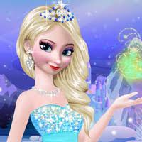 games makeup and dress up frozen