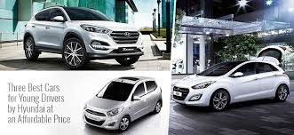 best cars for young drivers by hyundai