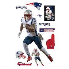 Fathead Rob Gronkowski New England Patriots Life Size Removable Wall Decal